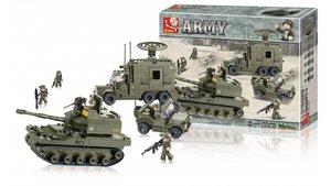 Sluban M38-B0308 Army Elite Armored Division