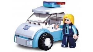 Sluban Girls Dream Serie M38-B0600B Politievrouw met Politiewagen 69-delig