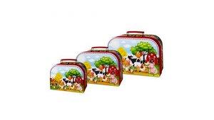Simply for Kids 3-delige Kofferset Boerderij