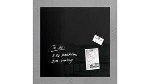 Sigel SI-GL110 Glasmagneetbord Artverum 480x480x15mm Zwart