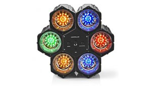 Nedis FUDI211BK6 Discolamp Multicolour Spot met 126 LEDS