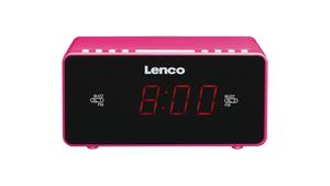 Lenco CR-510 PK Wekkerradio Roze
