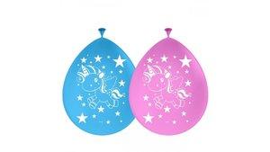 Folat Ballonnen Unicorn 8 Stuks