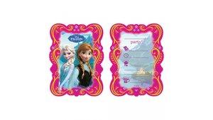 Disney Frozen Uitnodigingen 6 Stuks