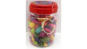 Rijgkralen Pop Beads 180 Stuks In Emmer
