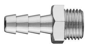Neo Tools Nippel Met Slang Verbindstuk 6mm 1/4