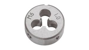 Topex Matrijs M6 ( 25x9mm ) DIN 352 Wolfram