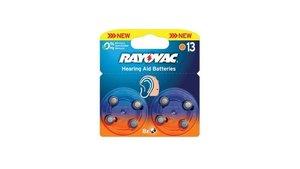 Rayovac Ray-13b-8p Hoortoestelbatterijen Ha13 8stuks