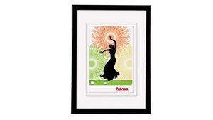 Hama Fotolijst Kunststof Madrid Zwart 10x15cm