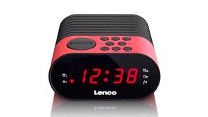 Lenco CR-07 Wekkerradio Roze