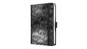 Sigel SI-CO538 Notitieboek Conceptum Hard Shiny Skull 95x140mm 194blz