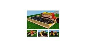 Kids Globe Farming Houten Sleufsilo 38x46x5cm