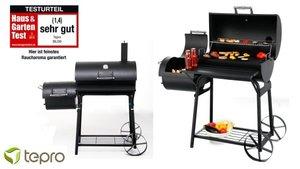 Tepro Biloxi Houtskool Smoker Barbecue