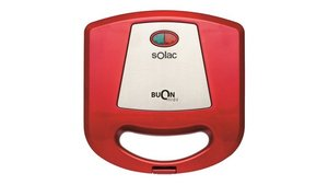 Solac SD5056 Buon Panini Sandwich Maker Rood