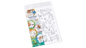 Info Notes IN-8720-08 Kleurboek Stickers Paint & Stick A4 10 Vel Boys & Girls