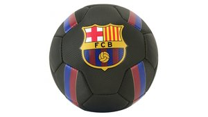 FCB Barcelona Voetbal met Logo Zwart