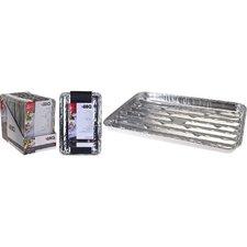 BBQ Aluminium Grillschalen Set 4 Stuks