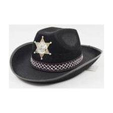 Folat Cowboyhoed Junior Zwart