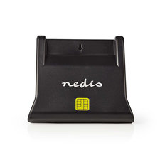 Nedis CRDRU2SM3BK Smartcard Reader Usb 2.0 Desktop Model Black