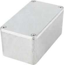 RND Components RND 455-00369 Metalen Behuizing, Aluminium, 65 X 115 X 55 Mm, Aluminium Alloy / Adc12, Ip65