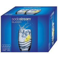 Sodastream Glazenset 330 ml 4 Stuks