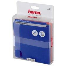 Hama CD/DVD Sleeves PP 50-pack Multi Kleur