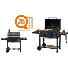 Tepro Toronto XXL Houtskool Barbecue met Inzetrooster RVS/Zwart