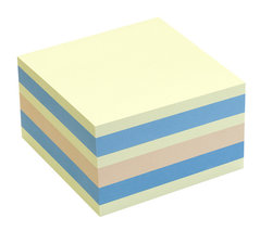 Info Notes IN-5654-66 75x75mm Assorti Pastel Blok A 450 Vel