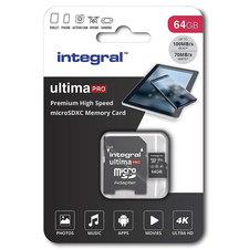 Integral Micro-sdxc V30 100/70mb 64gb