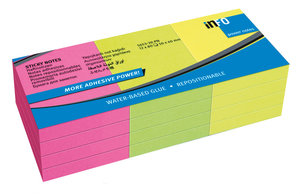 Info Notes IN-5653-39-PN Powernotes 50x40mm Ass. Brilliant Pak 12 Blok.