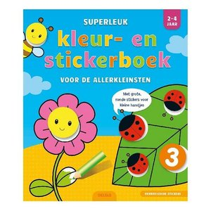 Deltas Kleur- en Stickerboek